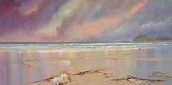 Beach Walking by Philip Gray -  sized 48x24 inches. Available from Whitewall Galleries
